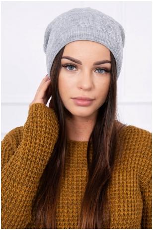 Pilka kepurė K102