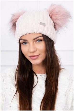 Šviesiai rožinė kepurė K120
