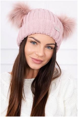 Nude spalvos kepurė K120