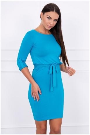 Turkio spalvos suknelė MOD325