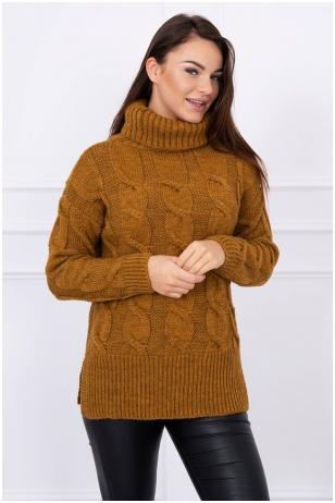 Moro spalvos megztinis MOD044