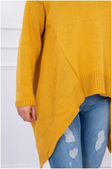 Garstyčių spalvos megztinis MOD002 4