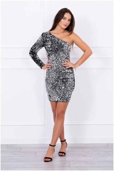 Sidabrinė suknelė MOD043 3