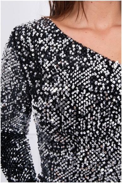 Sidabrinė suknelė MOD043 4