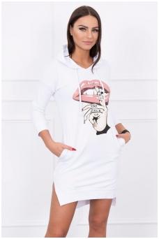 Balta suknelė MOD188