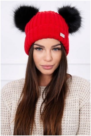 Raudona kepurė K120