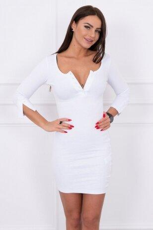 Balta suknelė MOD217