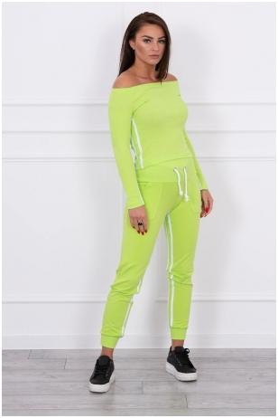Žalias sportinis kostiumas MOD165