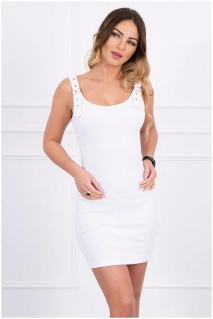 Balta suknelė MOD249