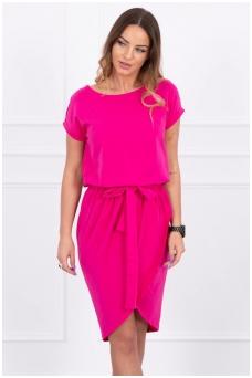 Rožinė suknelė MOD263