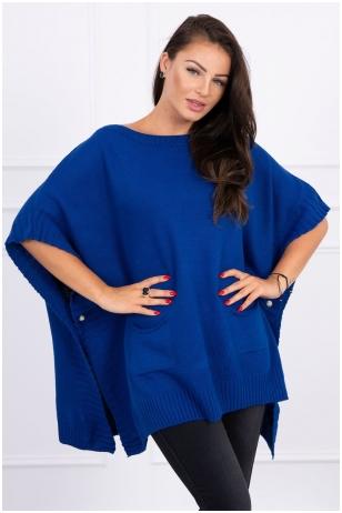 Mėlynas megztinis MOD443