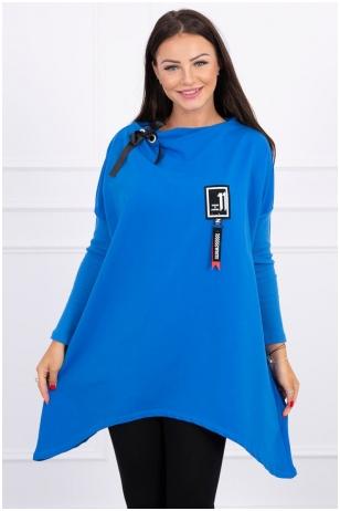 Džinsinės spalvos marškinėliai MOD450
