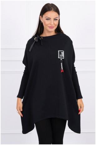 Juodos spalvos marškinėliai MOD450