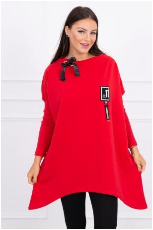 Raudonos spalvos marškinėliai MOD450