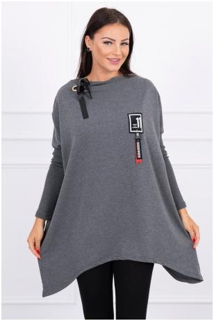 Grafito spalvos marškinėliai MOD450