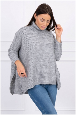 Pilkas megztinis MOD467