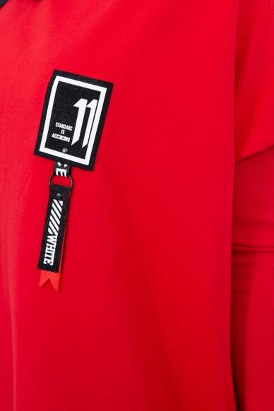 Raudonos spalvos marškinėliai MOD450 3