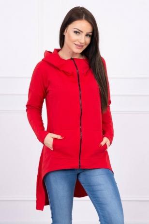 Raudonos spalvos marškinėliai MOD607