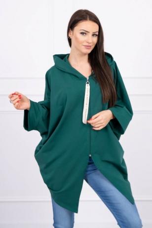 Žalios spalvos marškinėliai MOD604