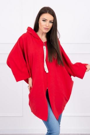 Raudonos spalvos marškinėliai MOD604