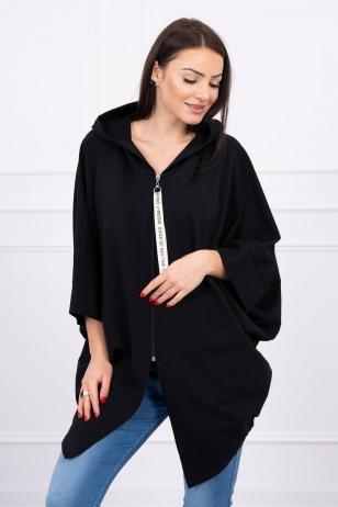 Juodos spalvos marškinėliai MOD604