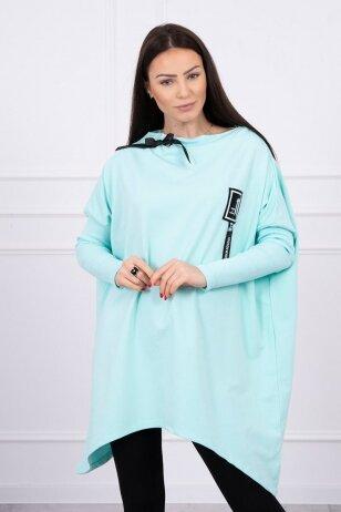 Mėtinės spalvos marškinėliai MOD450
