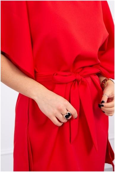 Raudona suknelė MOD497 4