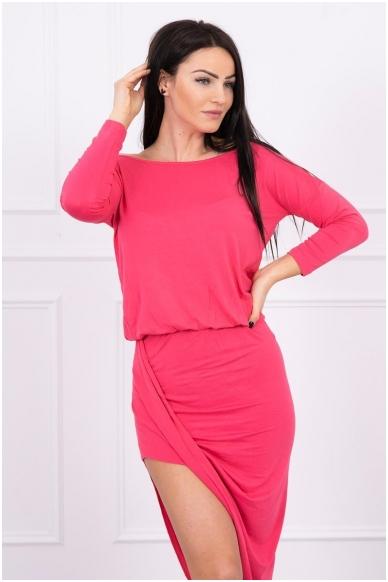 Avietinės spalvos suknelė MOD013 3