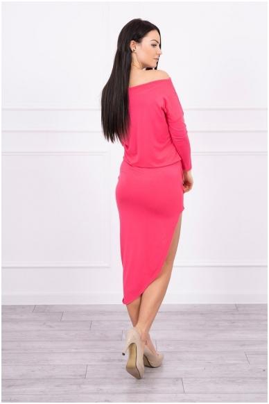 Avietinės spalvos suknelė MOD013 2