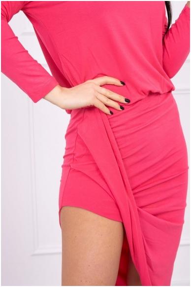 Avietinės spalvos suknelė MOD013 4