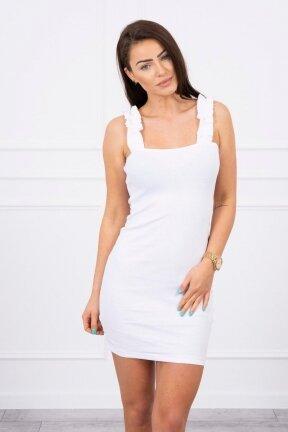 Balta suknelė MOD692