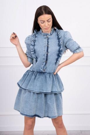 Džinsinė suknelė MOD565