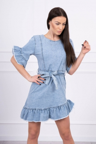 Džinsinė suknelė MOD568