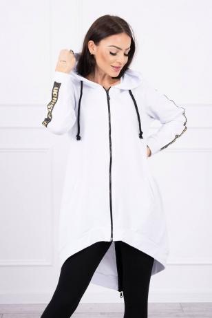 Baltos spalvos marškinėliai MOD449