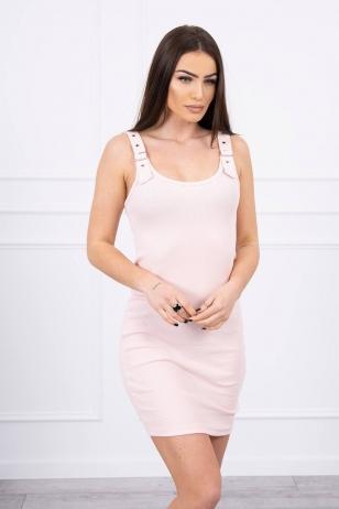 Nude spalvos suknelė MOD249