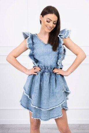 Džinsinė suknelė MOD700