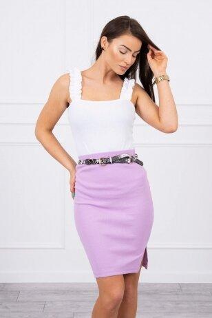 Violetinis sijonas MOD690