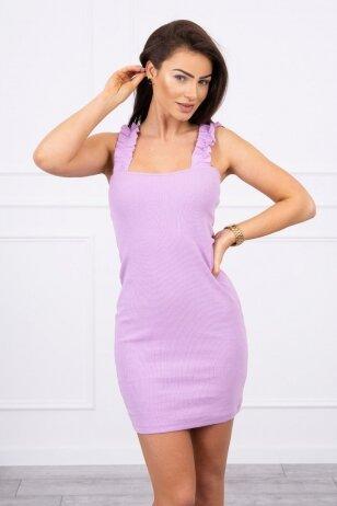 Violetinė suknelė MOD692