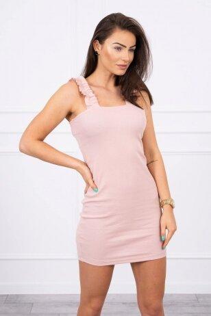 Nude spalvos suknelė MOD692
