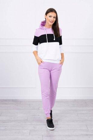Violetinės spalvos sportinis kostiumas MOD216
