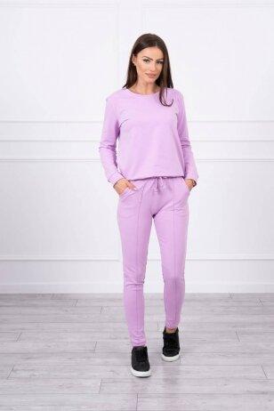 Violetinės spalvos sportinis kostiumas MOD711