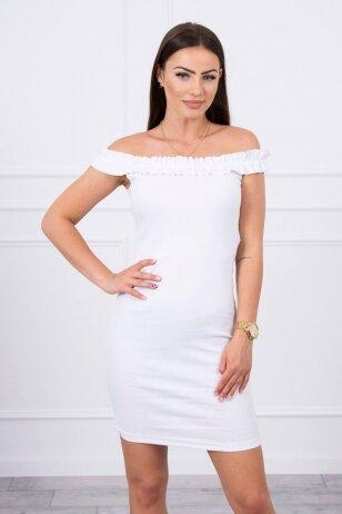 Balta suknelė MOD712