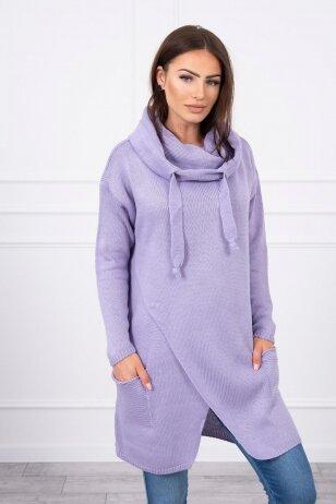 Violetinės spalvos megztinis MOD308