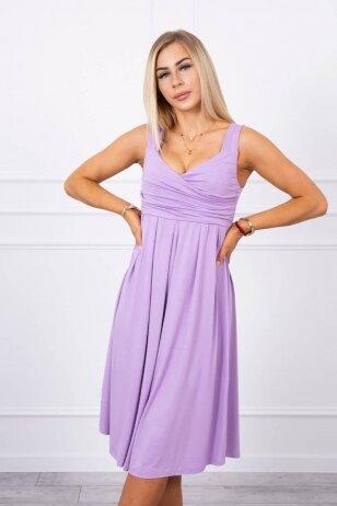 Violetinė suknelė MOD231