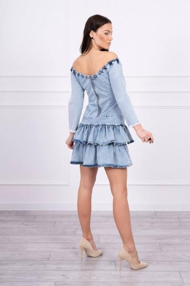 Džinsinė suknelė MOD566 2
