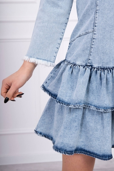 Džinsinė suknelė MOD566 5