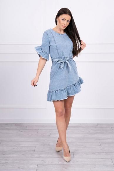 Džinsinė suknelė MOD568 3