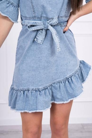 Džinsinė suknelė MOD568 4