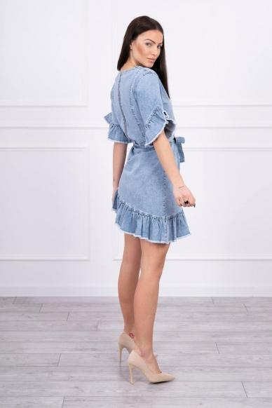 Džinsinė suknelė MOD568 2