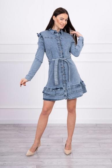Džinsinė suknelė MOD569 3